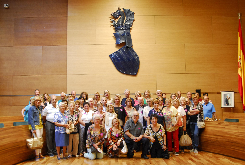 Visita realizada por los vecinos y vecinas de L'Eliana a la Diputación. Foto: M. Pazoss.
