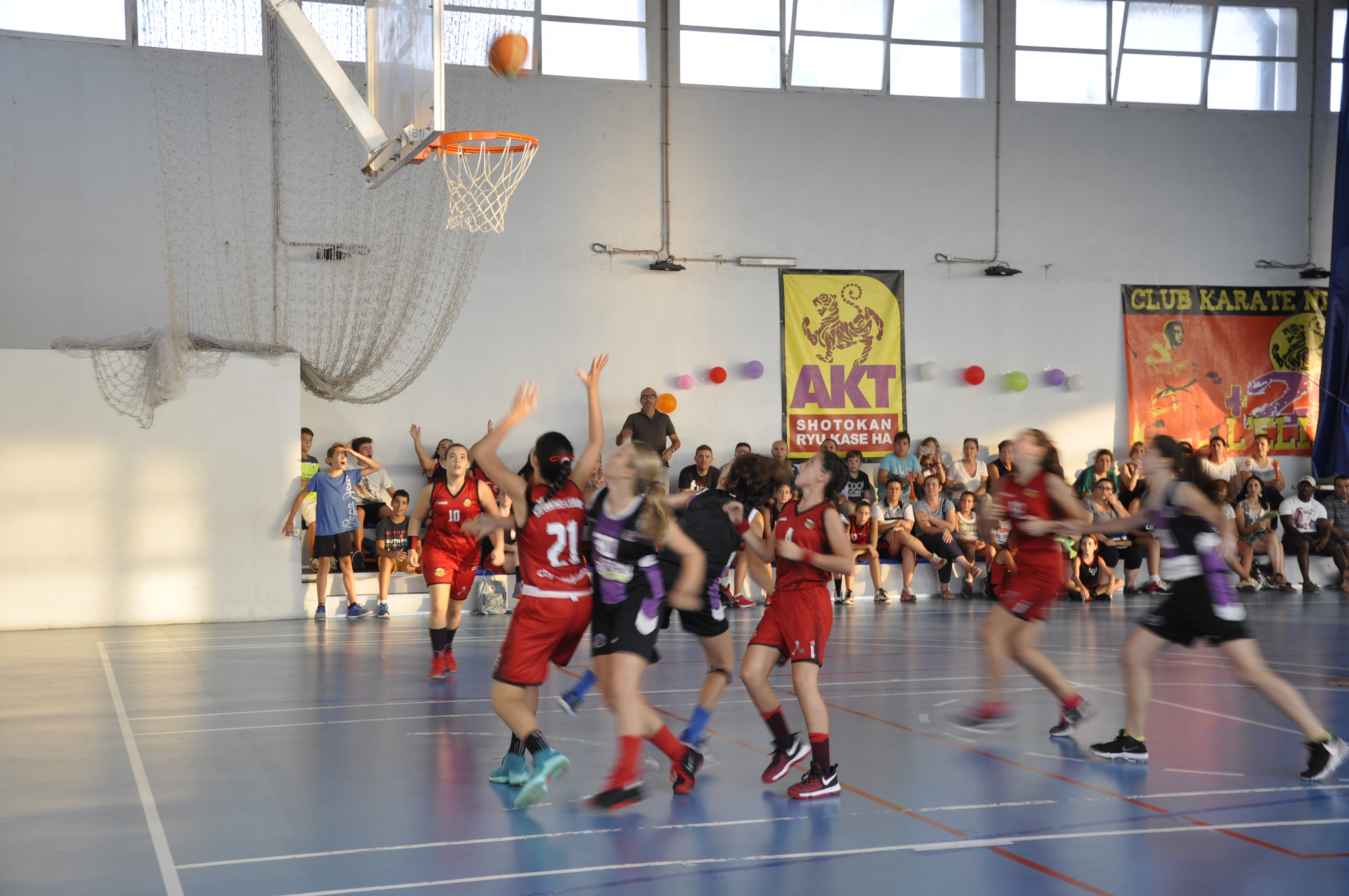 El equipo femenino infantil de baloncesto ha logrado un importante éxito deportivo: el ascenso autonómico.
