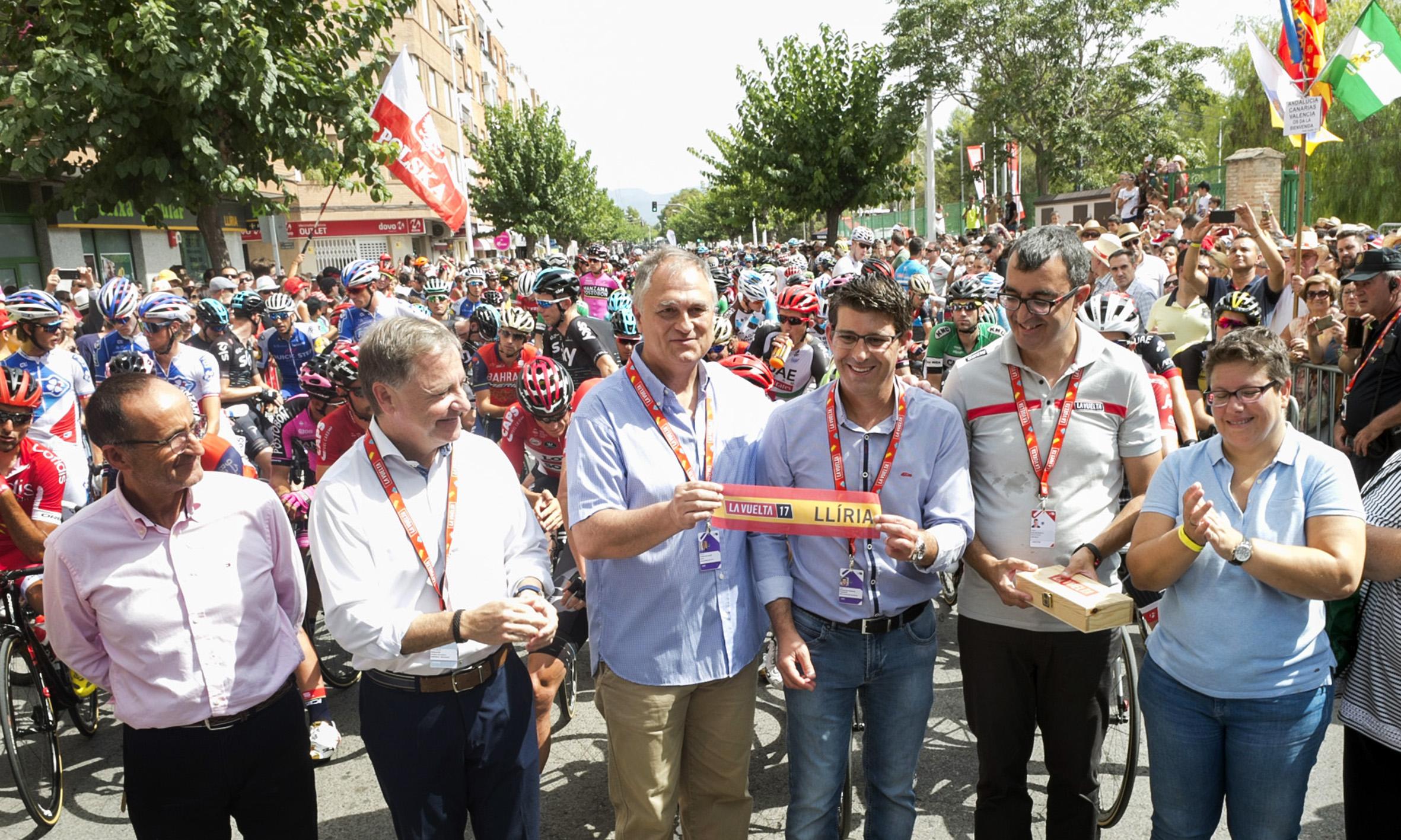 El canon pagado por la Diputación para que la carrera llegara a Sagunto y Llíria deja un retorno económico en los municipios y una gran imagen de las carreteras y el patrimonio natural de la provincia.