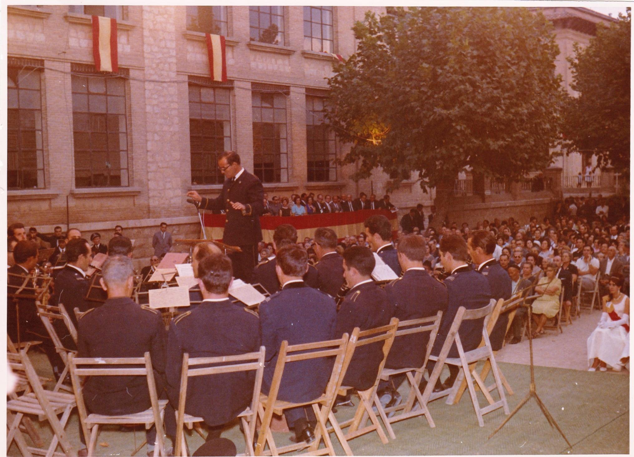 Banda participante en el Festival de Llíria el 10 de septiembre de 1967.