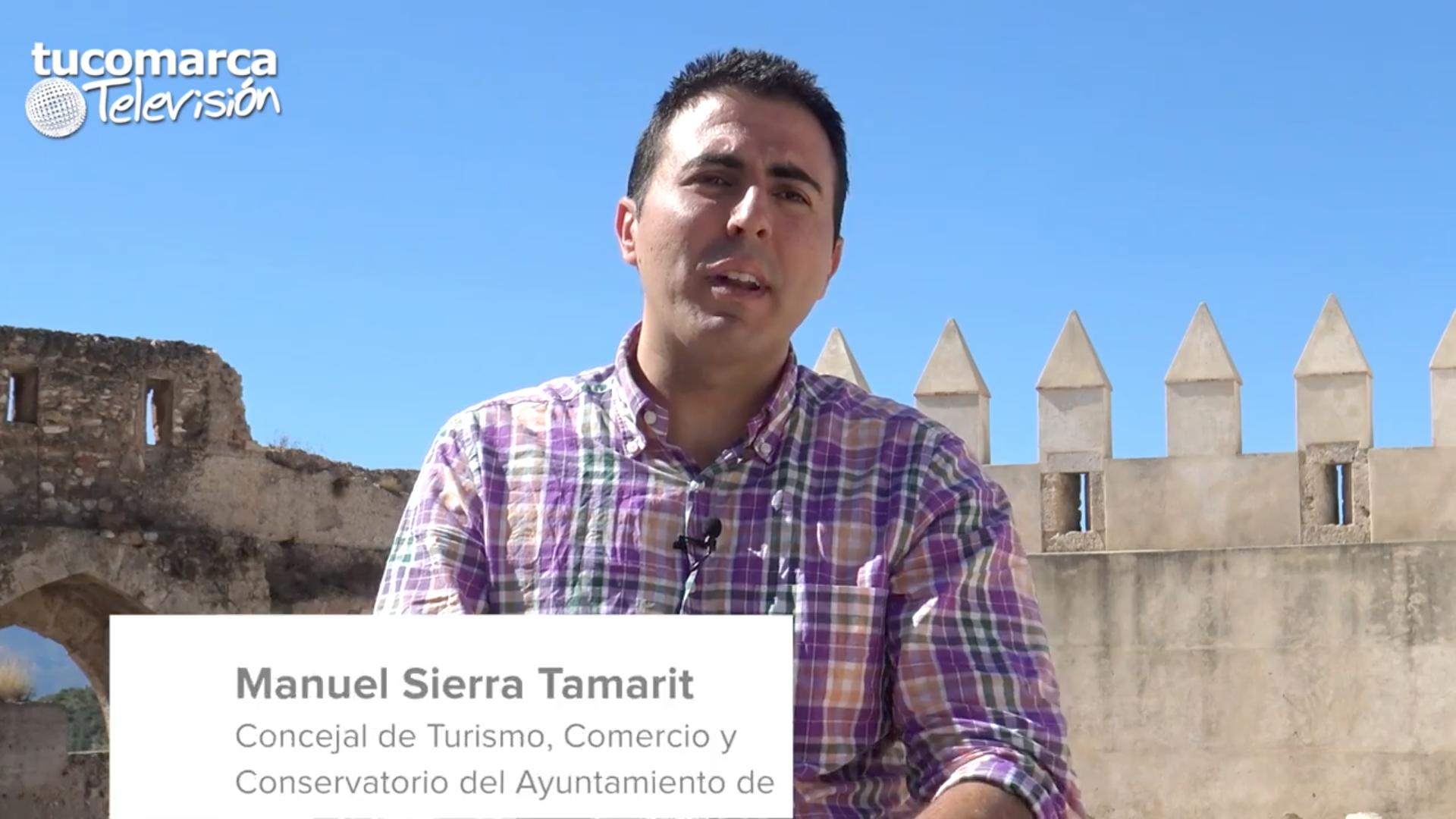 El responsable del área de Turismo del Ayuntamiento de Buñol, Manuel Sierra.