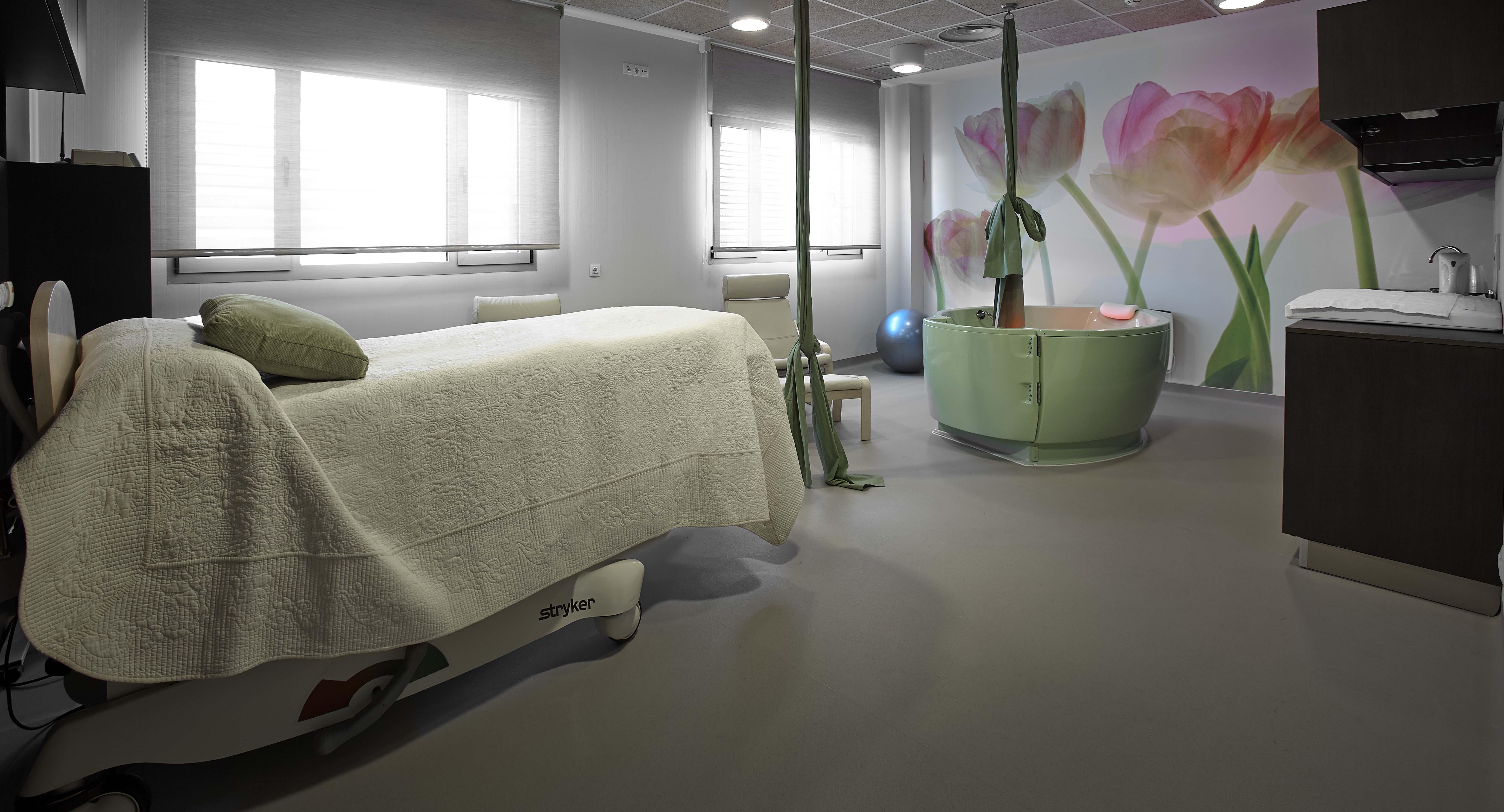 La Casa de Partos atiende gestaciones de bajo riesgo en un espacio más familiar que el habitual en un centro hospitalario.