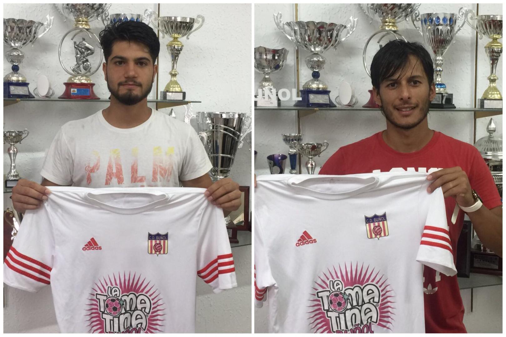 Raúl y Maxi se han incorporado a la disciplina del Club Deportivo Buñol para la temporada 2017-18.