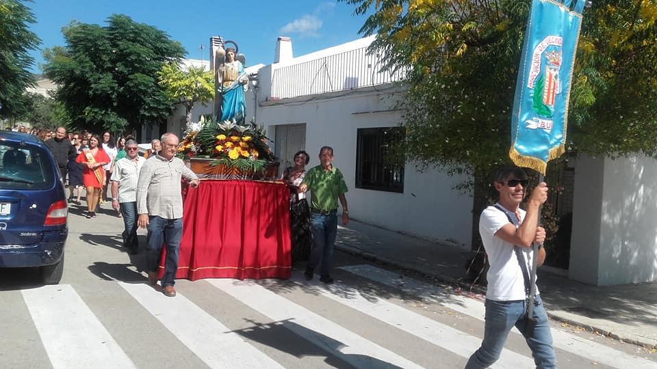 Celebración de la Romería en Honor al patrón del Barrio San Rafael dentro de las fiestas que se celebran cada año a mediados de septiembre.