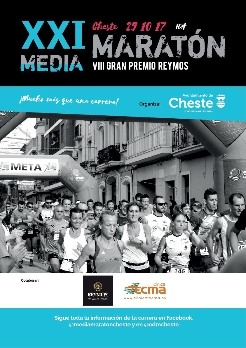 El evento tendrá lugar el domingo 29 de octubre a las 10 horas, con línea de salida en la calle Chiva y las inscripciones ya están abiertas en megustacorrer.com y carreraspopulares.com.