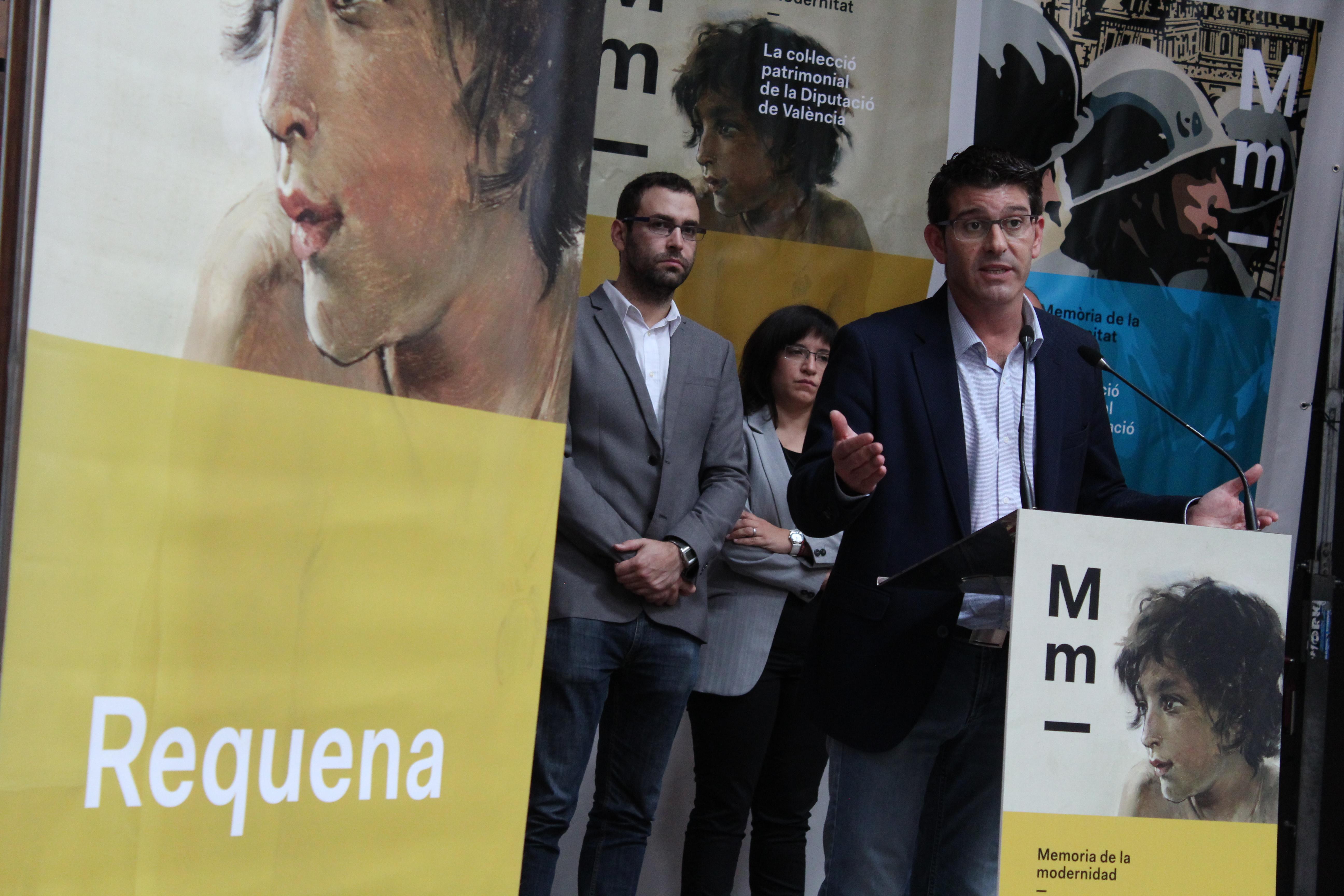 La exposición con el tesoro artístico de la Diputación deja Requena con 7.000 visitas y parte hacia Alzira.