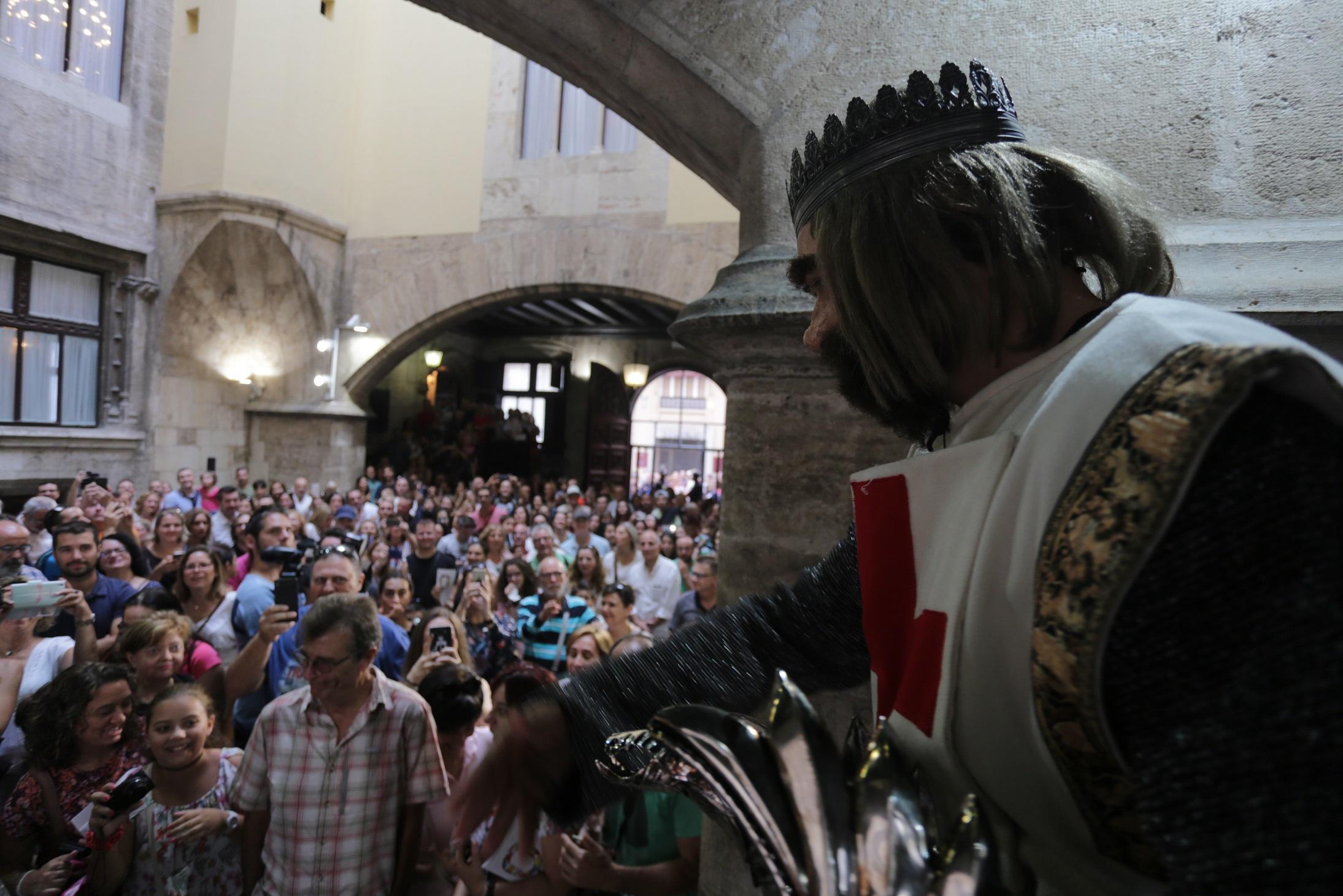 Más de 68.000 personas han pasado por el Palau de la Generalitat durante los días de puertas abiertas.
