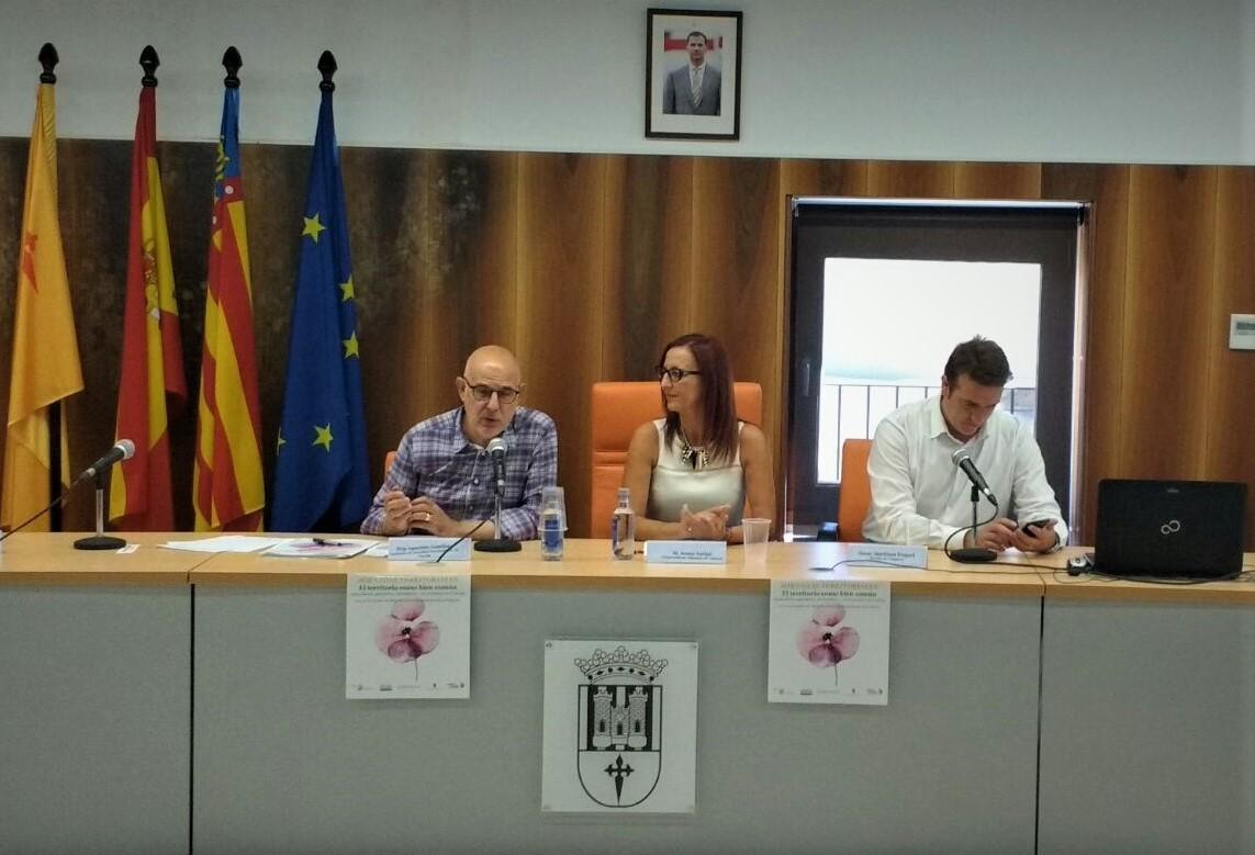 La vicepresidenta de la Diputació de València, Maria Josep Amigó ha estat l'encarregada de clausurar les Jornades Territorials sobre el macís del Caroig celebrades a Enguera.