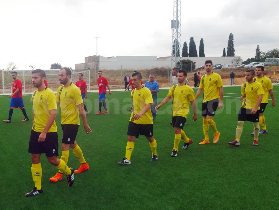 El conjunto del Atlético Macastre en una imagen de archivo.