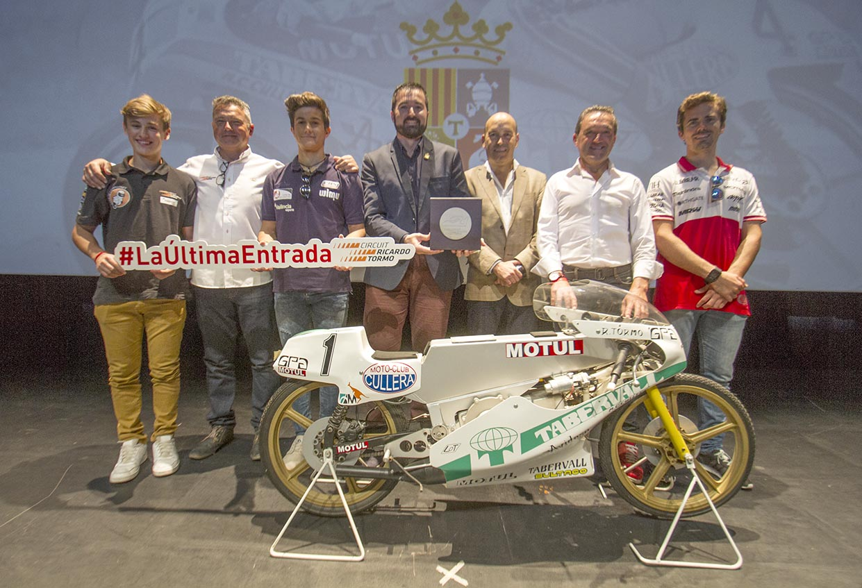 El Circuit sorteja #LaÚltimaEntrada del gran premi en un vídeo protagonitzat per Ricardo Tormo.
