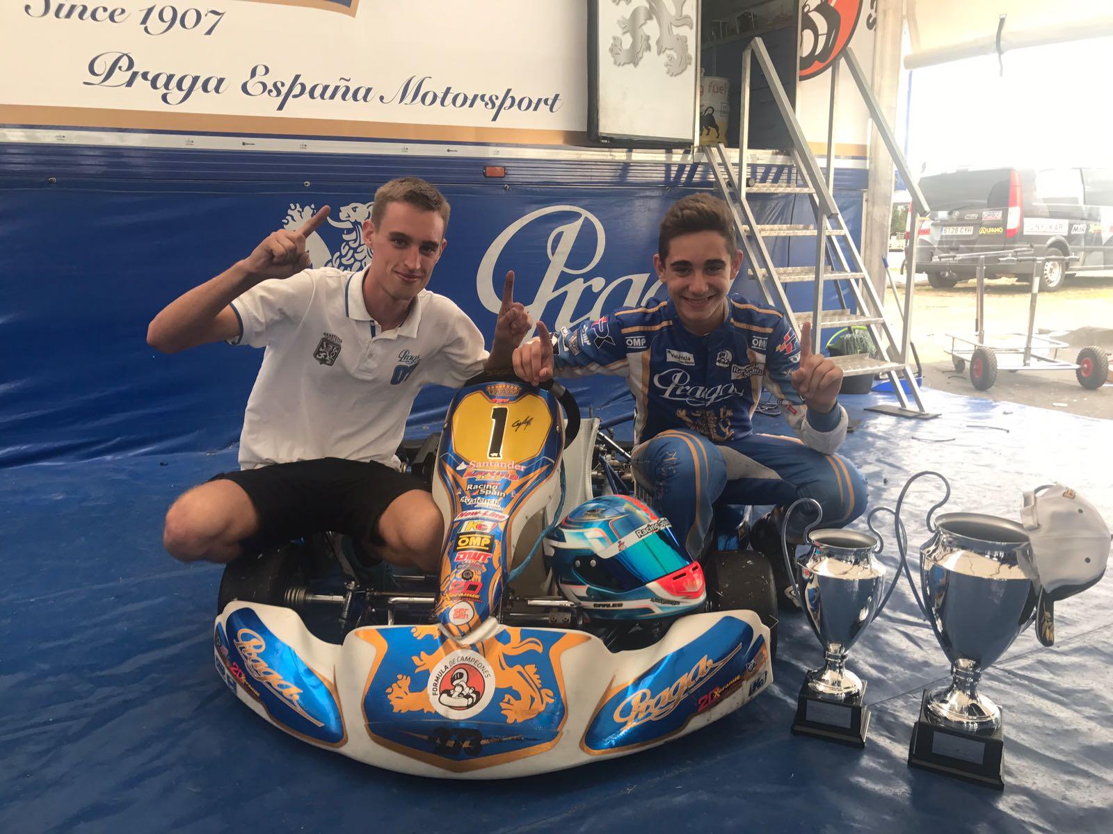 El piloto becado por la Diputación Carles Martínez se proclama campeón de España.