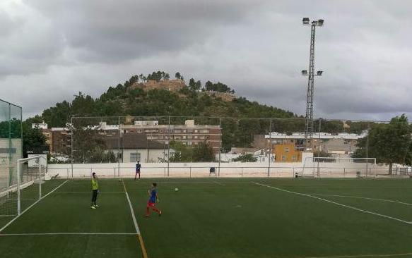Campo de fútbol del Chiva Club de Fútbol, La Murta.