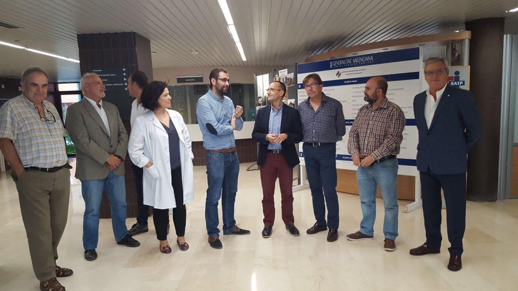 La Diputación y Sanitat invierten 171.000 euros en la mejora de centros de salud del departamento de Requena.