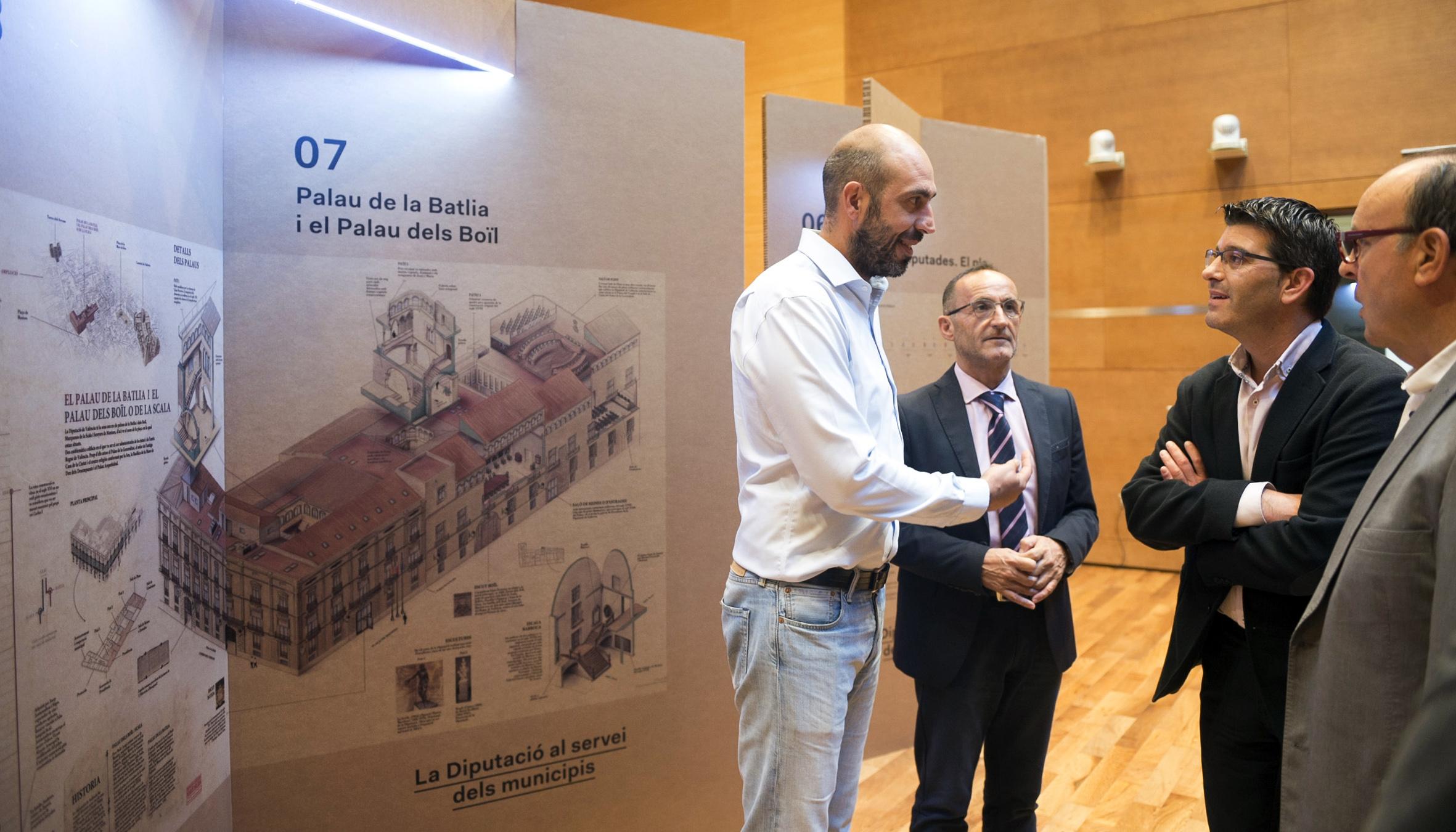 La Diputación abre sus puertas para dar a conocer a los ciudadanos su historia y los servicios que presta.