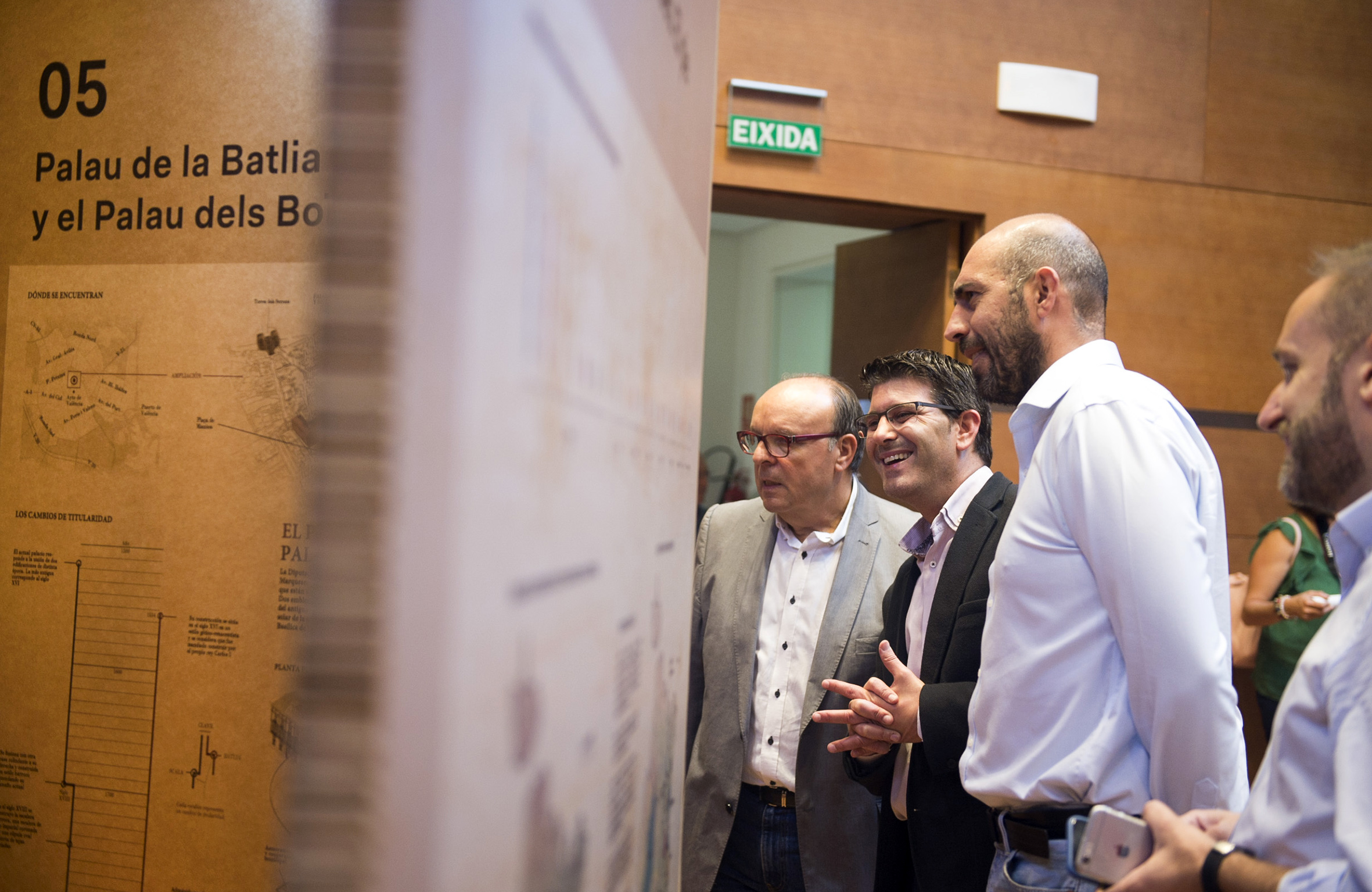 La Diputación recibe 15.000 visitas en sus dos semanas de puertas abiertas por el 9 d'Octubre.