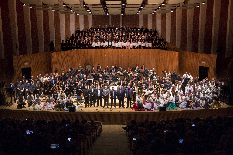 En esta campaña han participado las 4 federacionesmúsica popular de la Comunitat Valenciana: Federación de Sociedades Musicales de la Comunidad Valenciana, Federación de Coros, Federación de Folklore y Federación de Dolçainers i Tabaleters.
