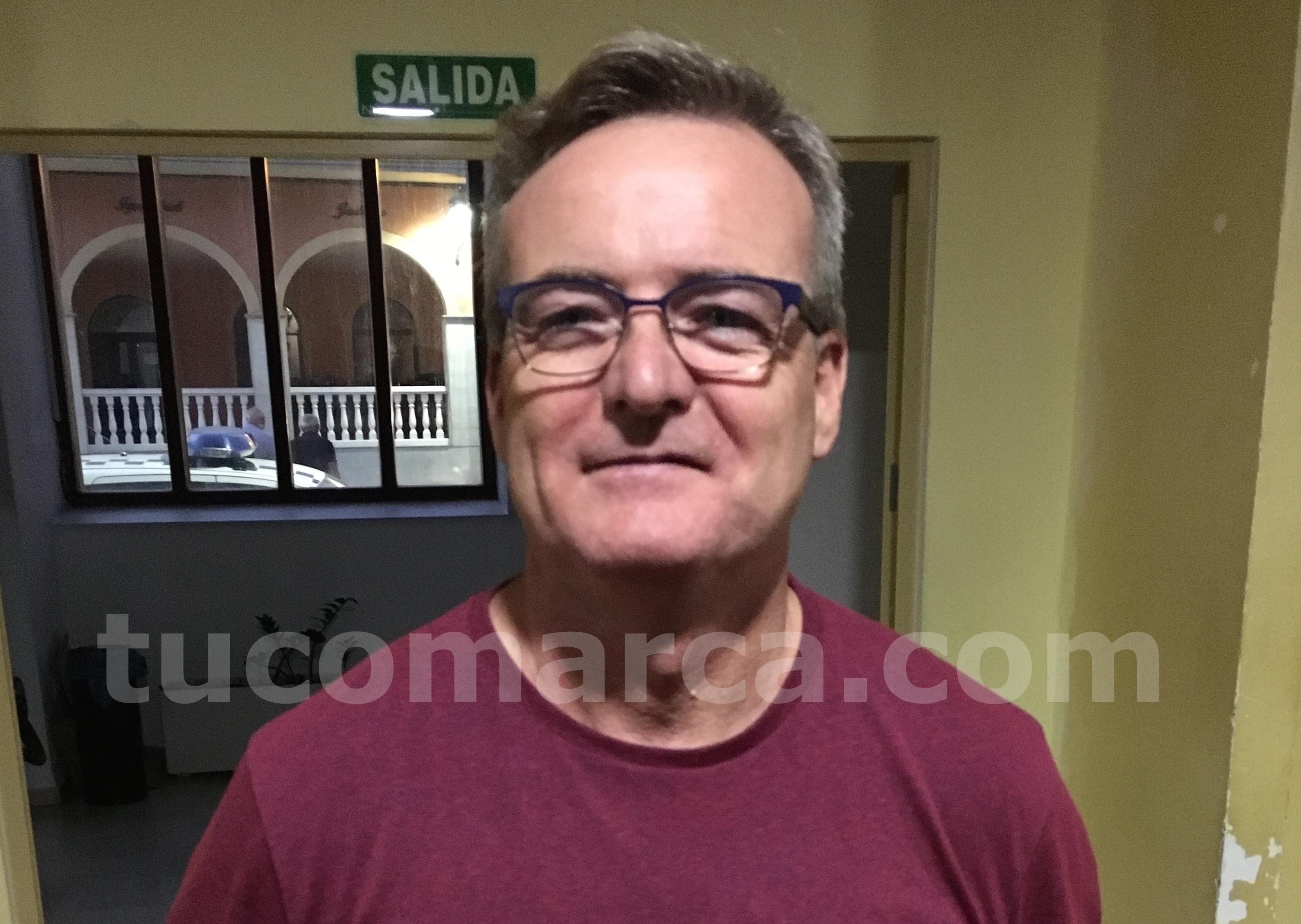 El presidente de la Sociedad Pelotari de Godelleta, José Valero.
