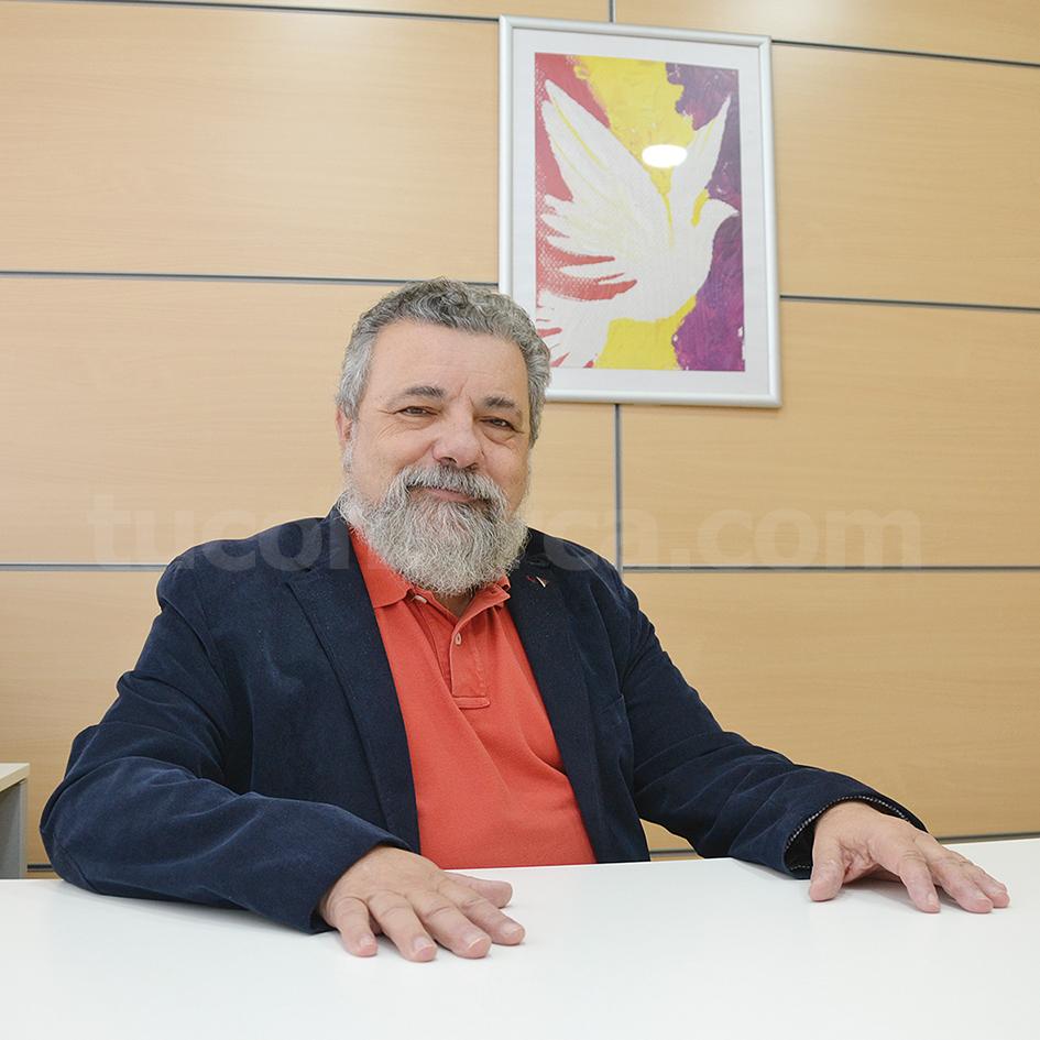 El alcalde de Godelleta, Pablo Rodríguez, de Esquerra Unida-Plataforma de Urbanizaciones.