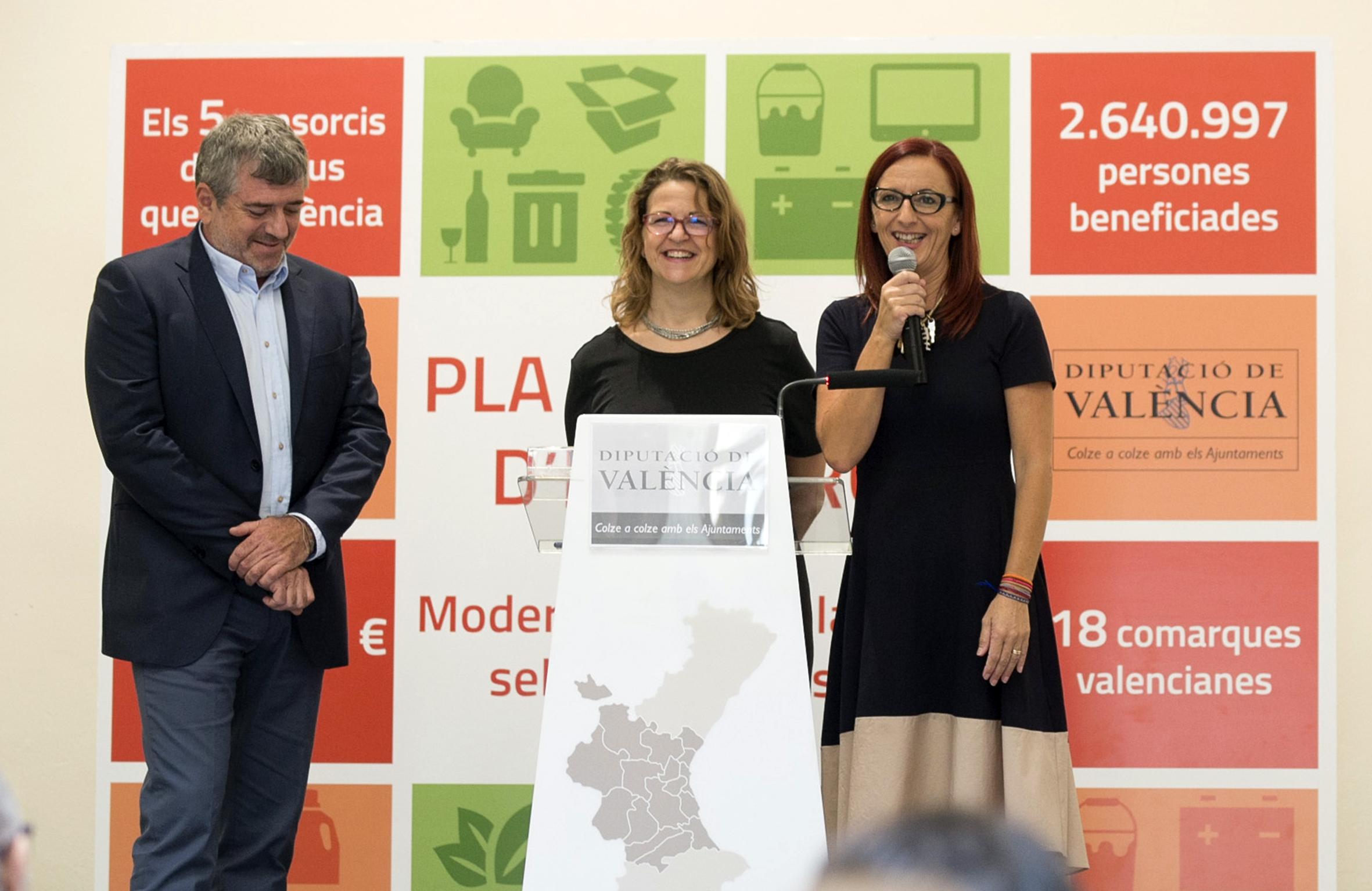 Maria Josep Amigó: «Las principales actuaciones irán relacionadas con la informatización de las redes de ecoparques para favorecer la implantación de equipos que incentiven económicamente a la ciudadanía en la recogida selectiva de residuos».