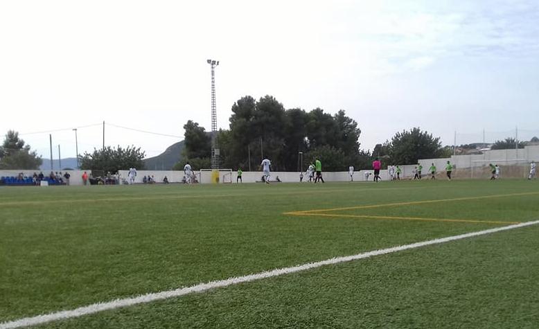 Campo de fútbol de la Unión deportiva Yátova en una imagen de archivo.