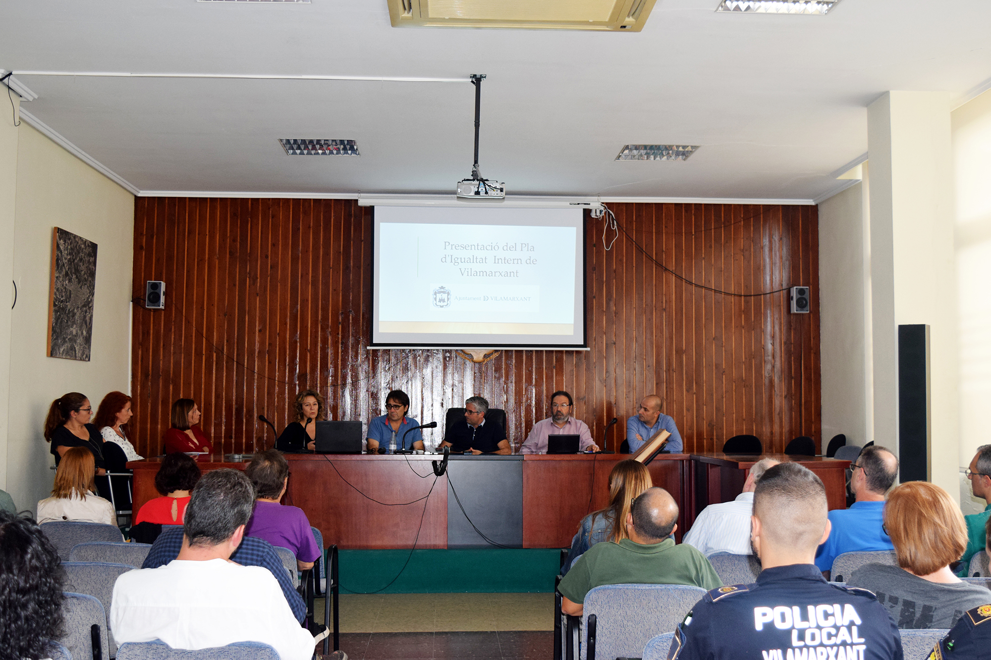 L'Ajuntament de Vilamarxant activa el seu Primer Pla d'Igualtat.