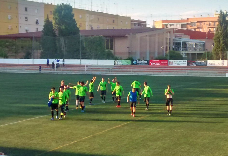 Jugadores de La Unión Deportiva de Yátova en una imagen de archivo.
