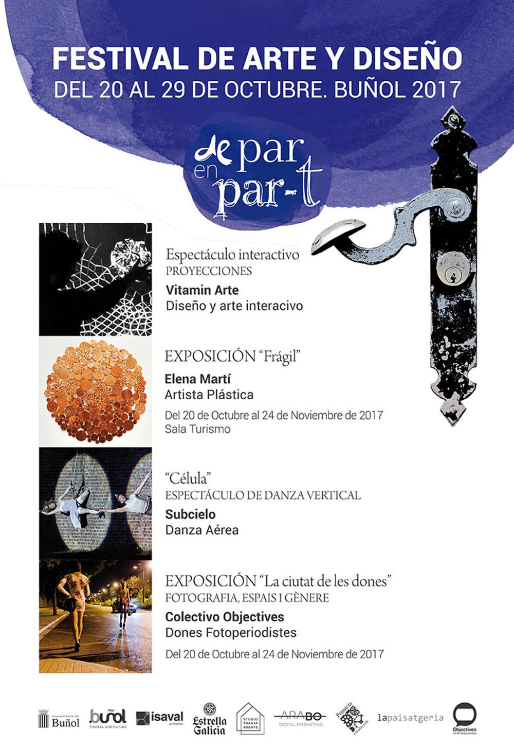 Inauguración 20 de octubre, a las 19,30 en la Sala El Oscurico del Castillo de Buñol.