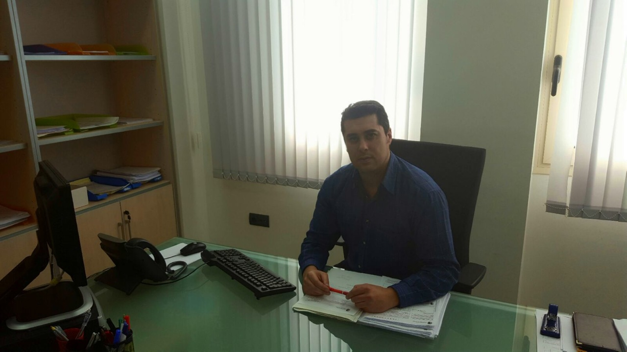 El concejal de Transparencia y Participación Ciudadana, Rafael Gómez.