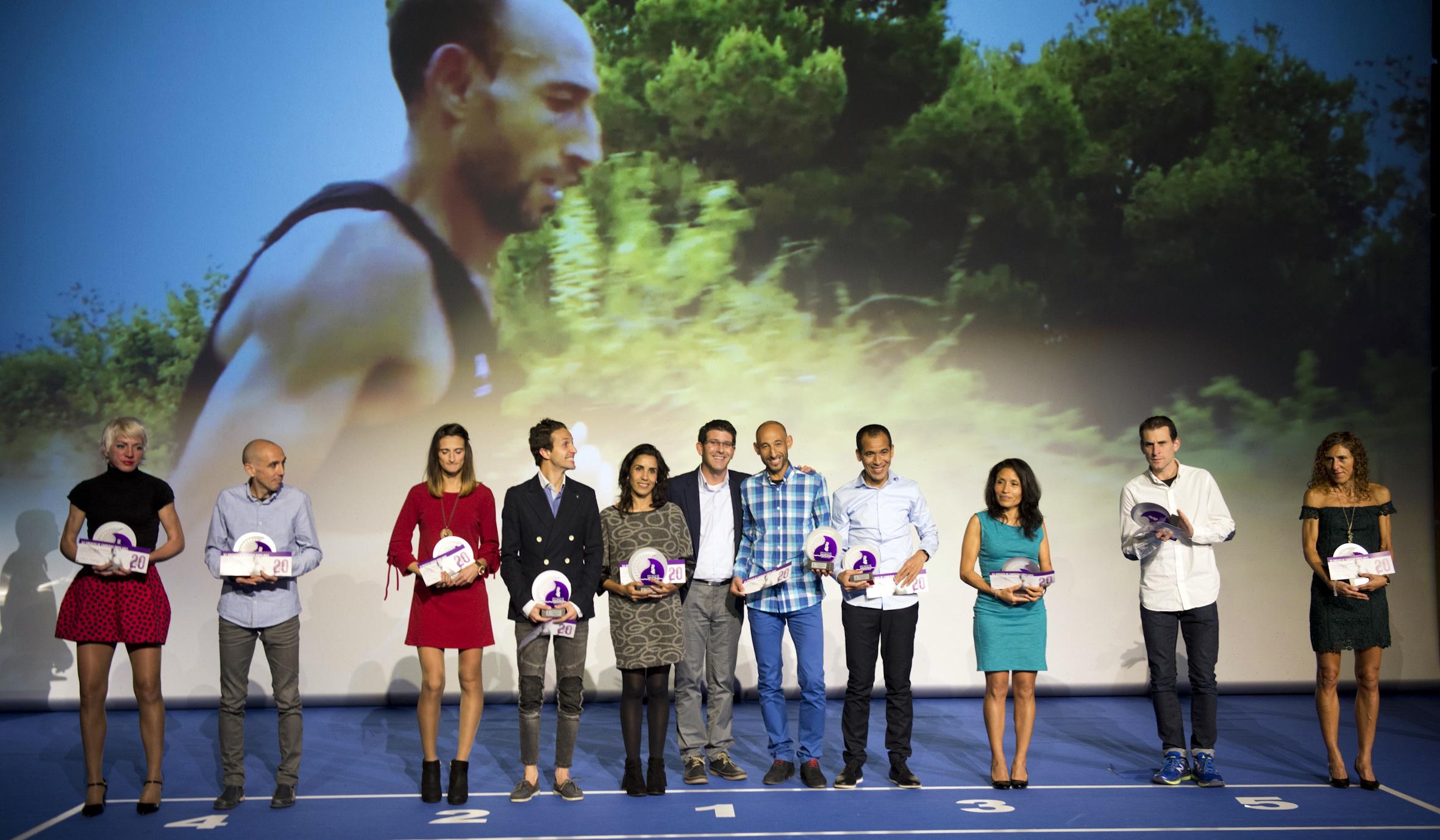 La vigésima edición de este circuito provincial finaliza con un 25% de participación femenina, 447 'finishers' y el triunfo de Hassane Aouchar en hombres y Fàtima Ayachi en mujeres