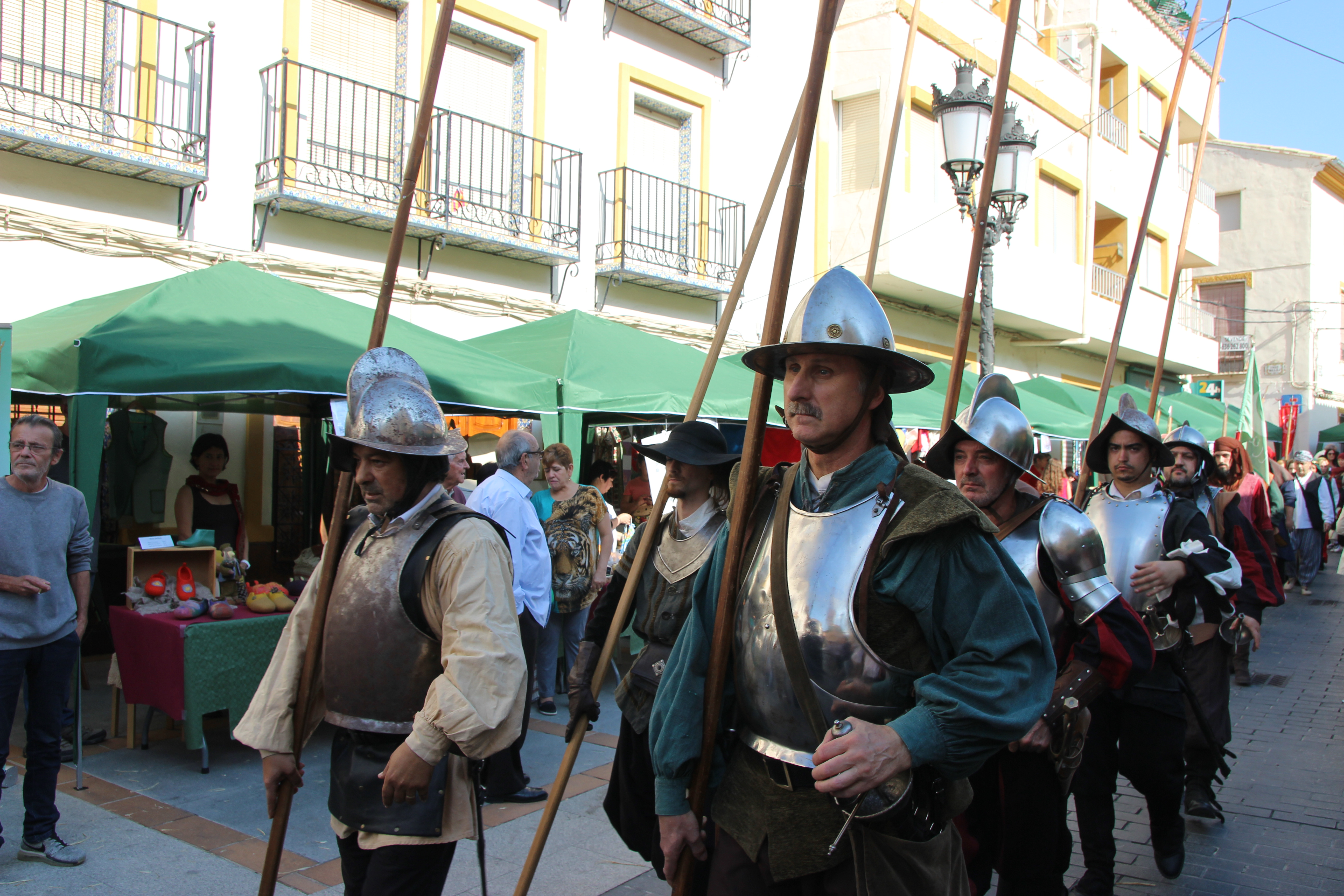 Recreación del año 2017 de la expulsión de los moriscos de Cortes.