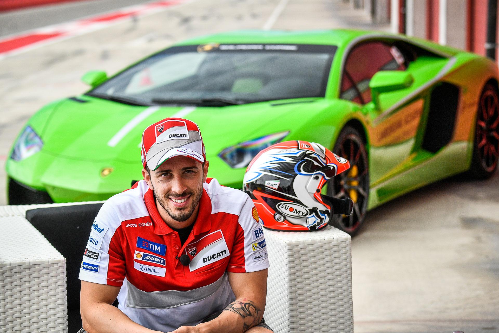 Dovizioso, campió del món de 125cc el 2004, aspira a succeir en el palmarés de MotoGP Valentino Rossi.
