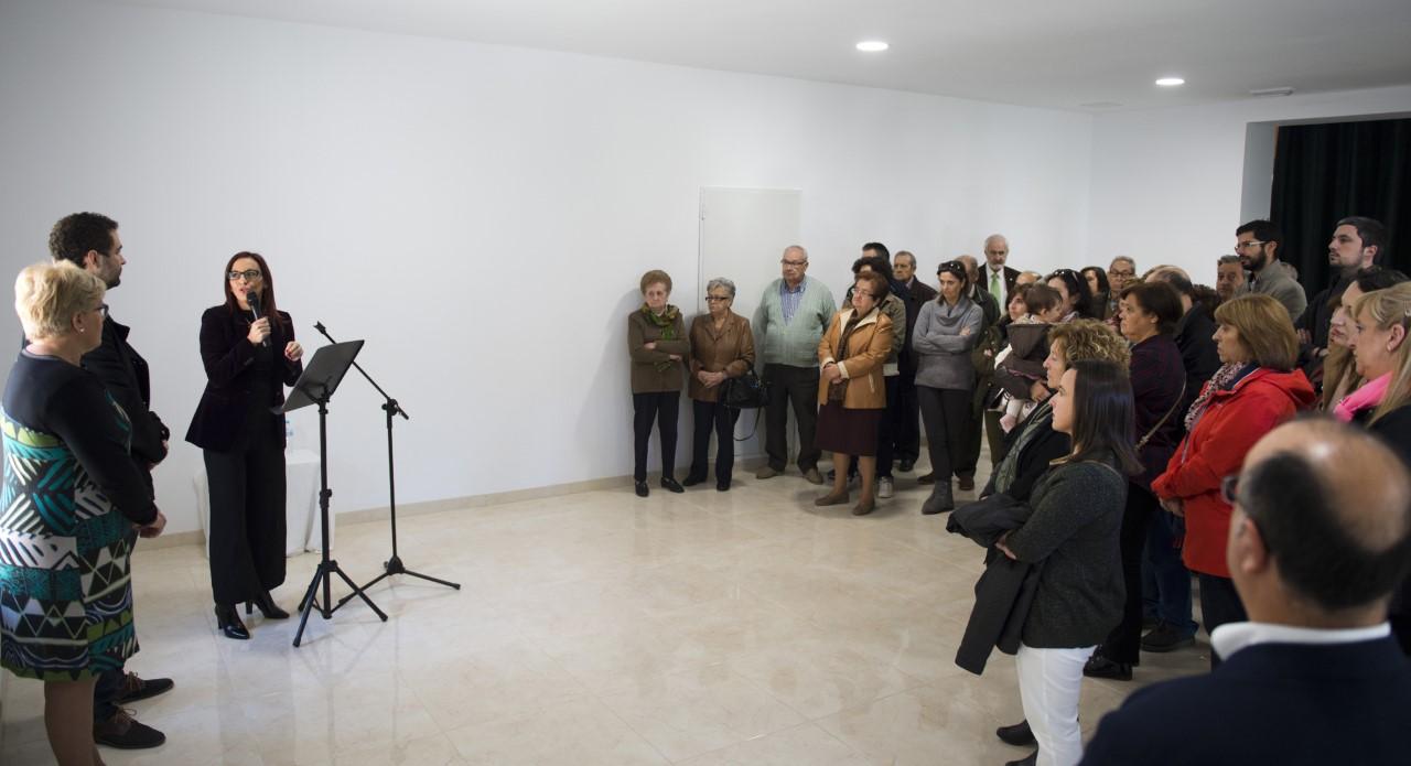 La vicepresidenta inauguró la remodelación de la infraestructura en El Rebollar.