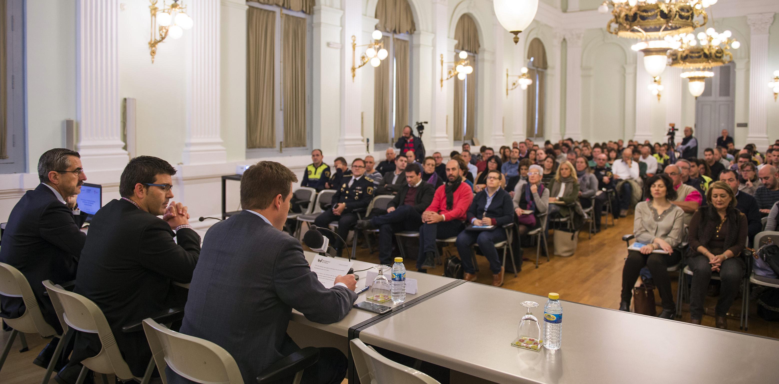 Jorge Rodríguez en uno de los cursos de formación de la Diputación de València.