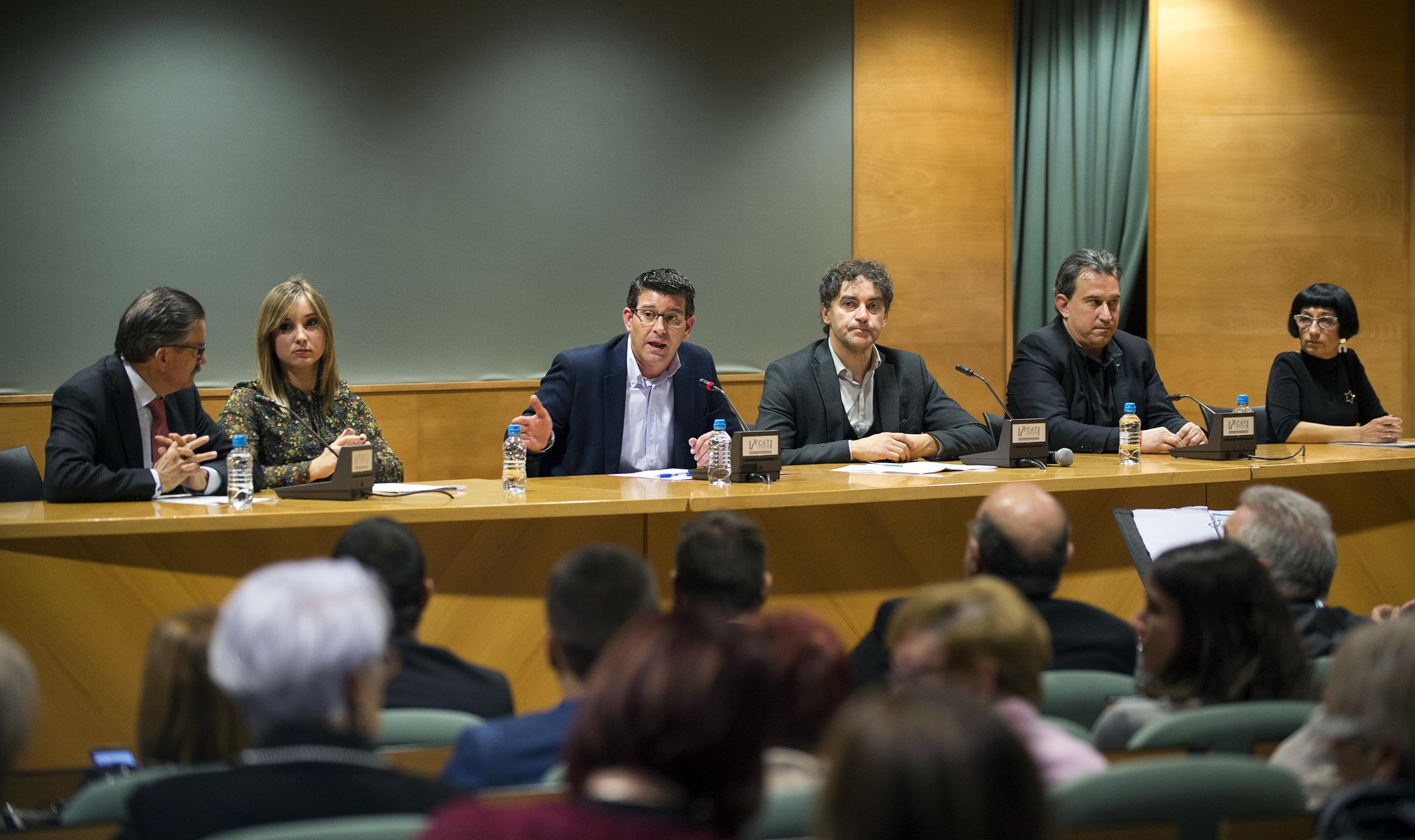 Rodríguez ha clausurado junto al secretario autonómico de la Agència Valenciana de Turisme, Francesc Colomer, la gala que homenajea al turismo sostenible y a sus principales actores en la Comunitat.
