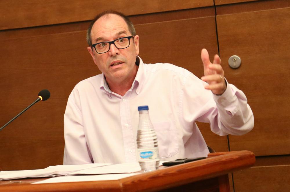 El concejal chestano José Vicente Guijarro.