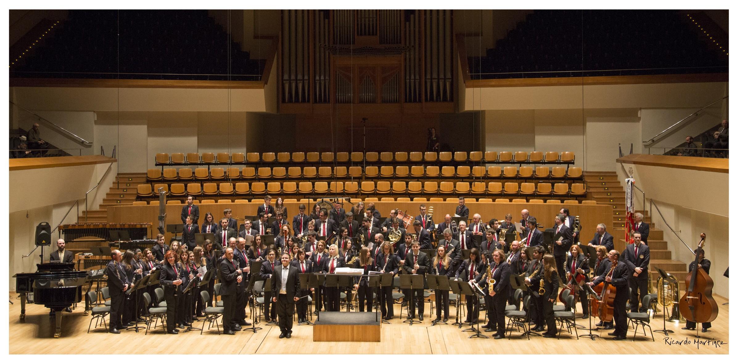 Será el próximo sábado 25 de noviembre a las 19 horas en el marco del concierto de Santa Cecilia y bajo la dirección del titular Borja Martínez Alegre.