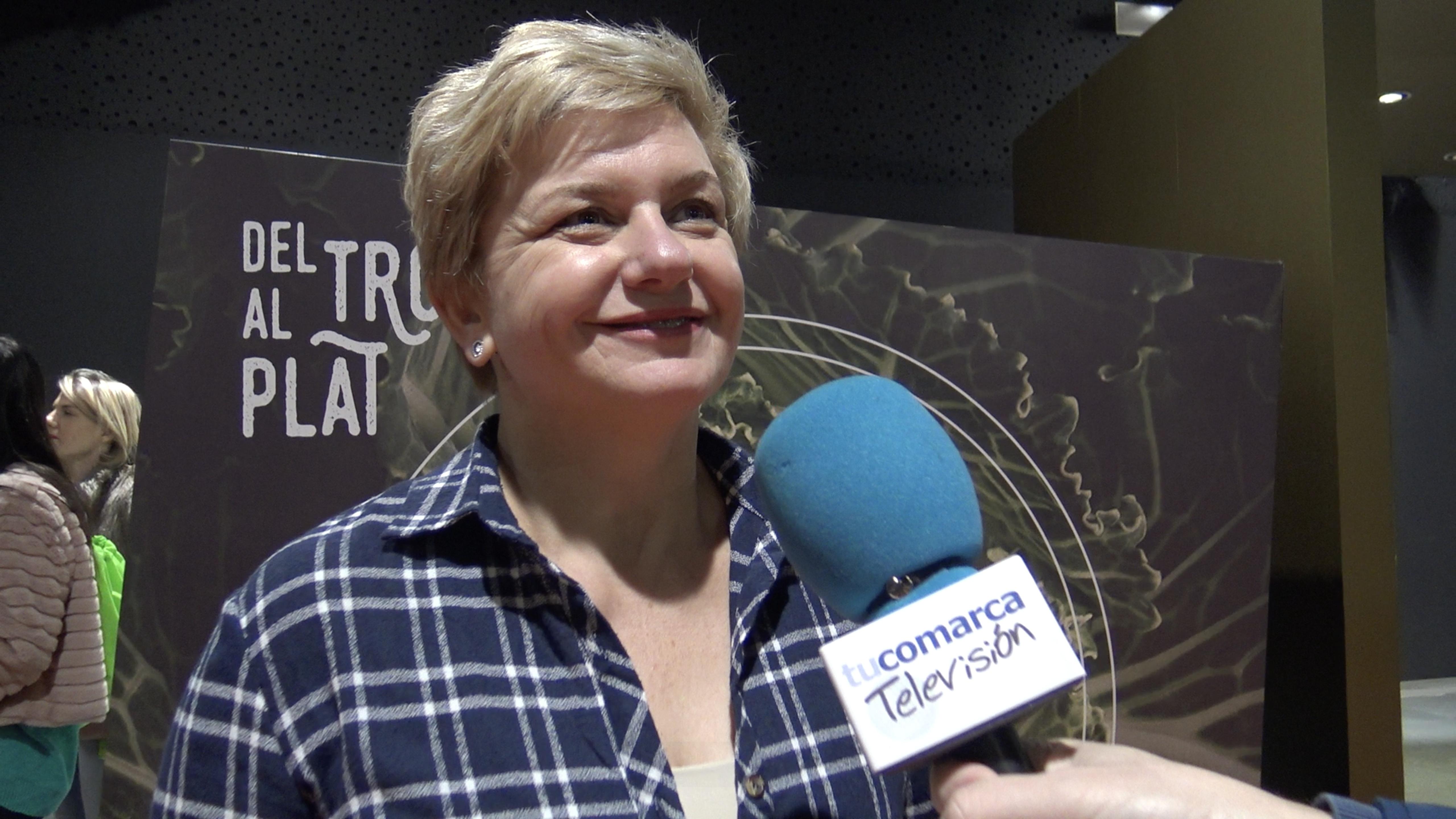 La diputada provincial Pilar Moncho.