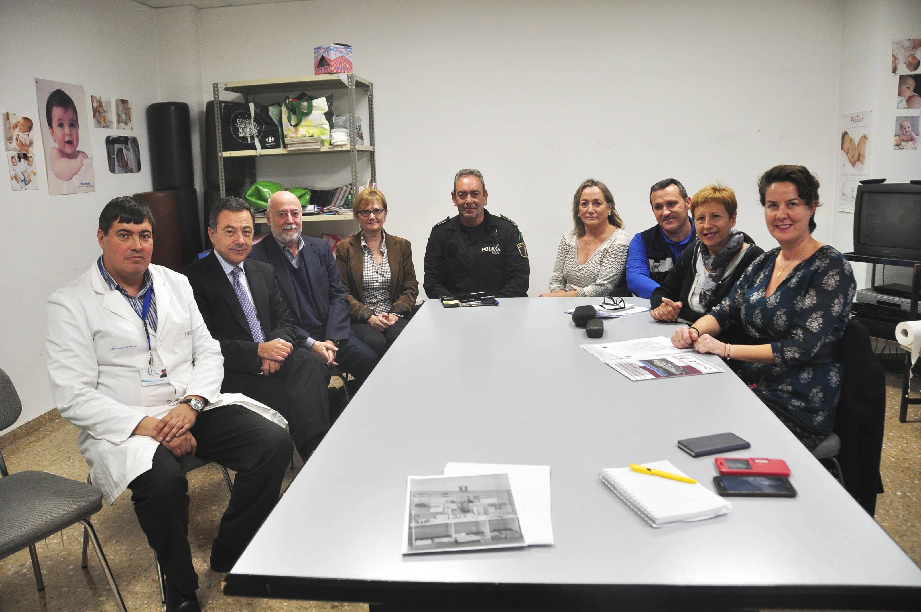 Ayuntamiento y Hospital de Manises han coordinado el dispositivo sanitario en la población para garantizar la calidad asistencial en el municipio durante el Gran Premio de Motociclismo.