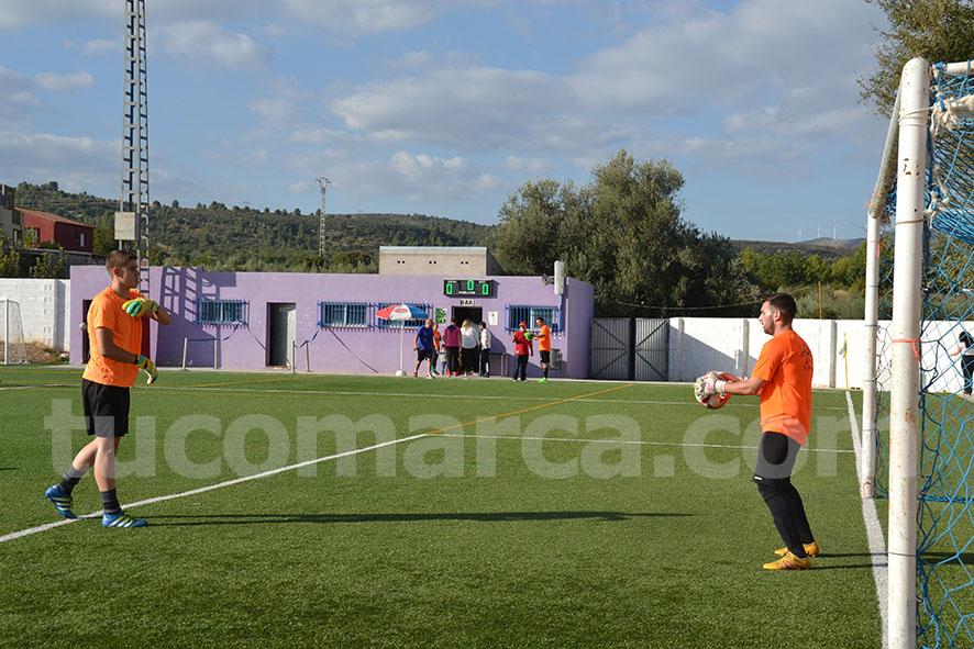 La UD Yátova se ha anotado tres puntos que le dan moral para seguir adelante en la liga. Foto: Raúl Miralles.