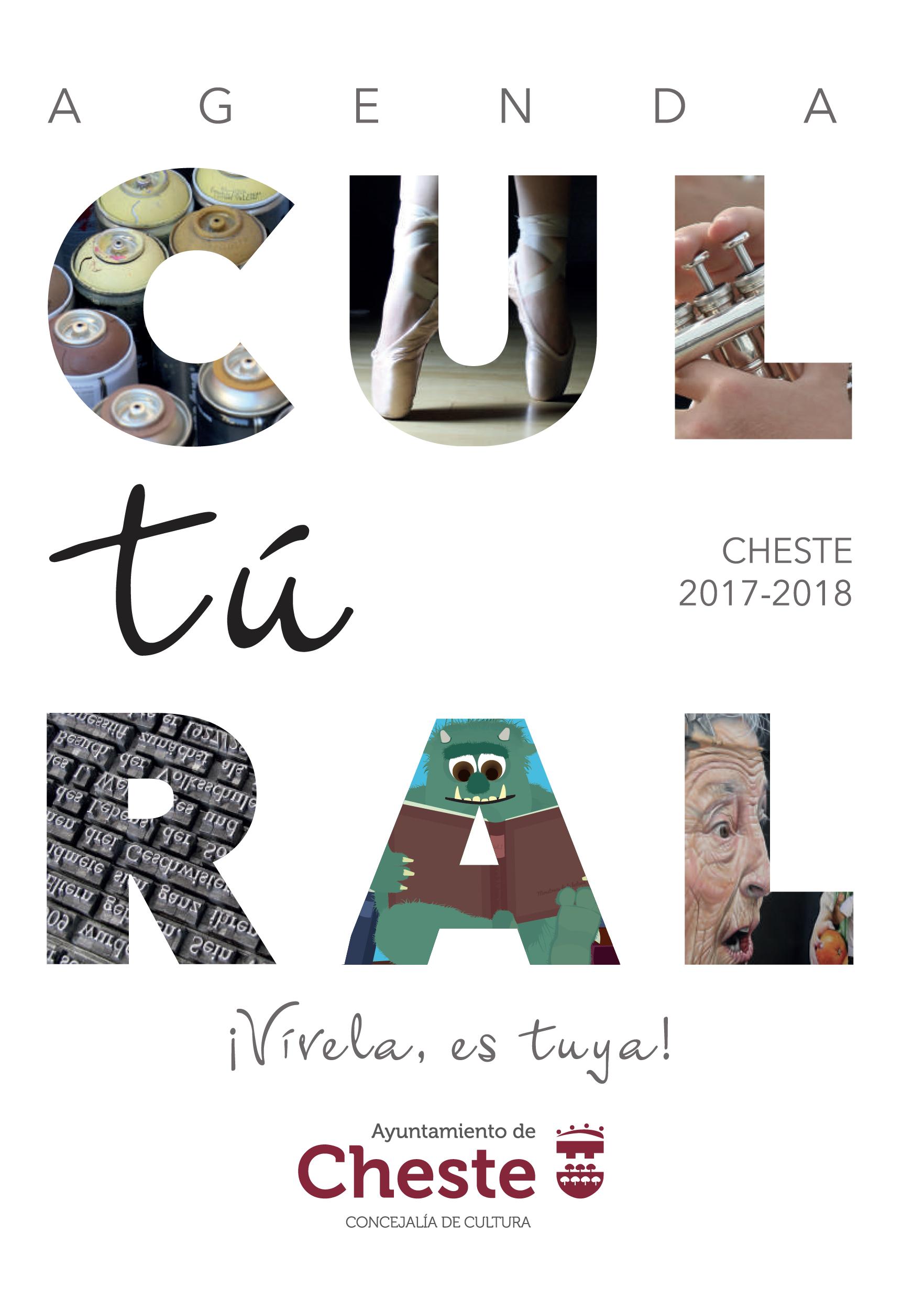 Agenda Cultural de la temporada 2017/2018.