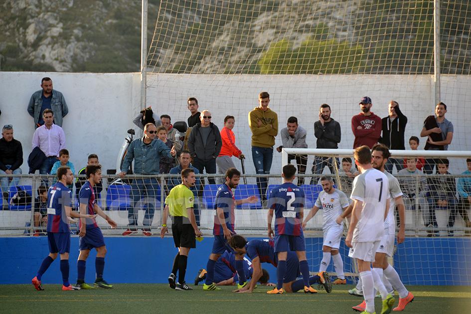 El marcador no se movió durante todo el encuentro y acabó en tablas.