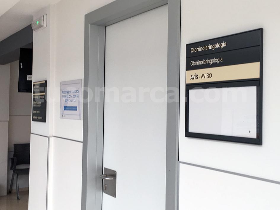 Instalaciones del centro de salud de Buñol reacondicionadas como centro de especialidades.