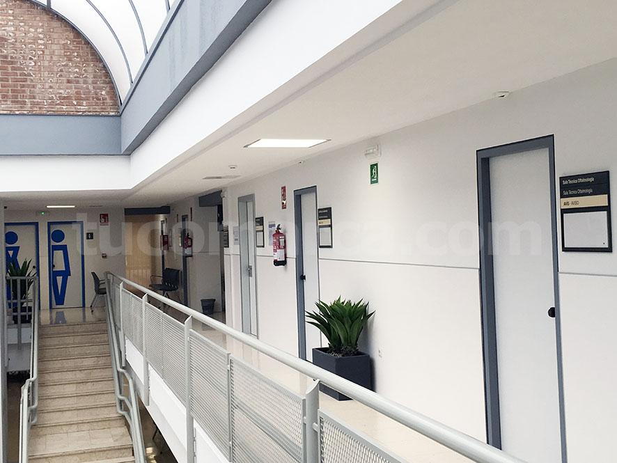 Instalaciones del centro de salud de Buñol.