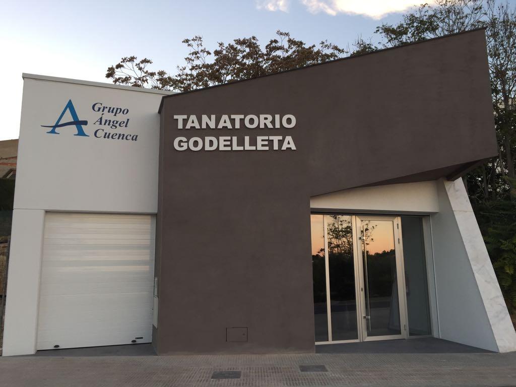 Fachada Tanatorio de Godelleta