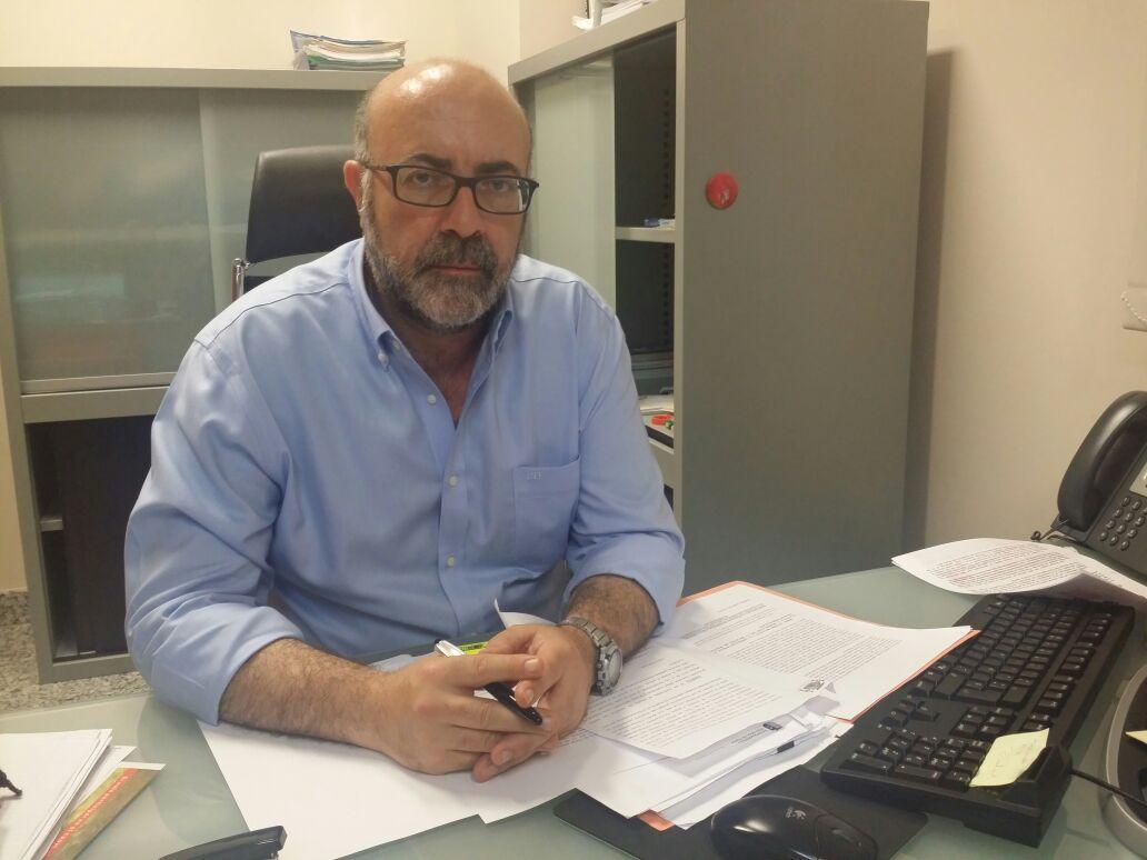 El concejal de Sanidad de Riba-roja, José Luis López.