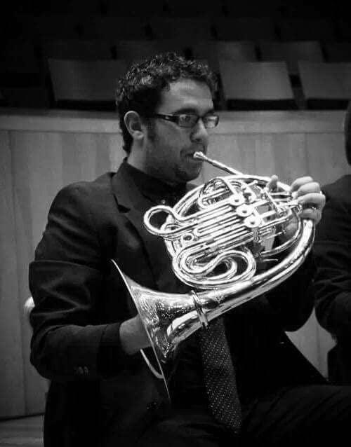 Rubén García se ha formado en la «Santa Cecilia» de Yátova.
