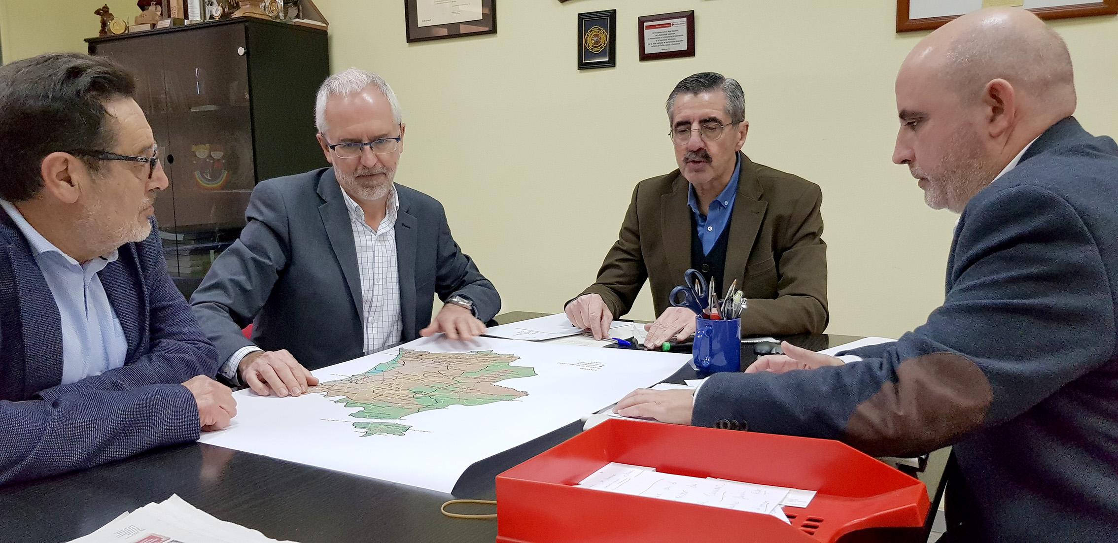 La trobada s'ha produït en el Centre de Coordinació d'Emergències 112 de L'Eliana