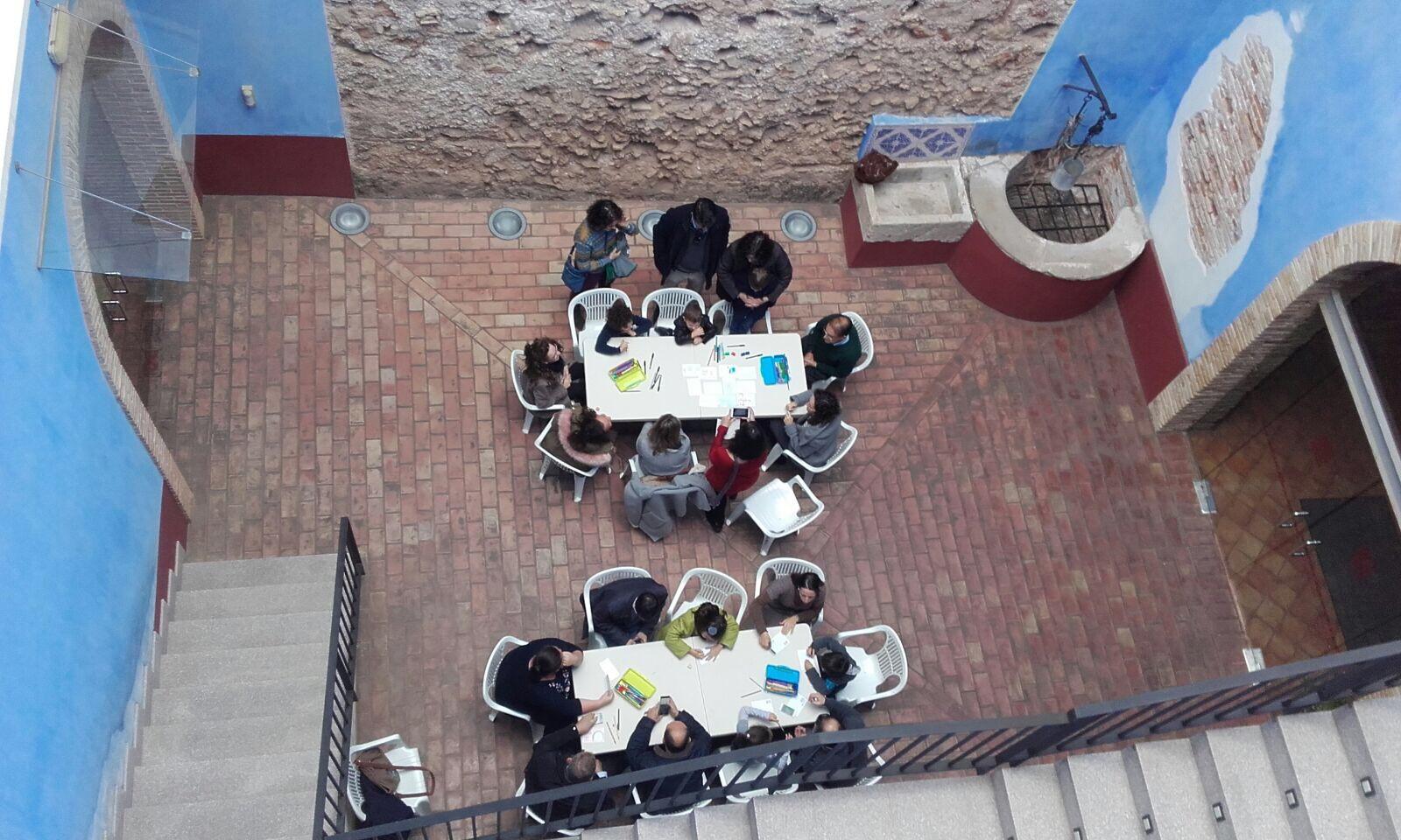Un taller familiar en el MUMA de Alzira.