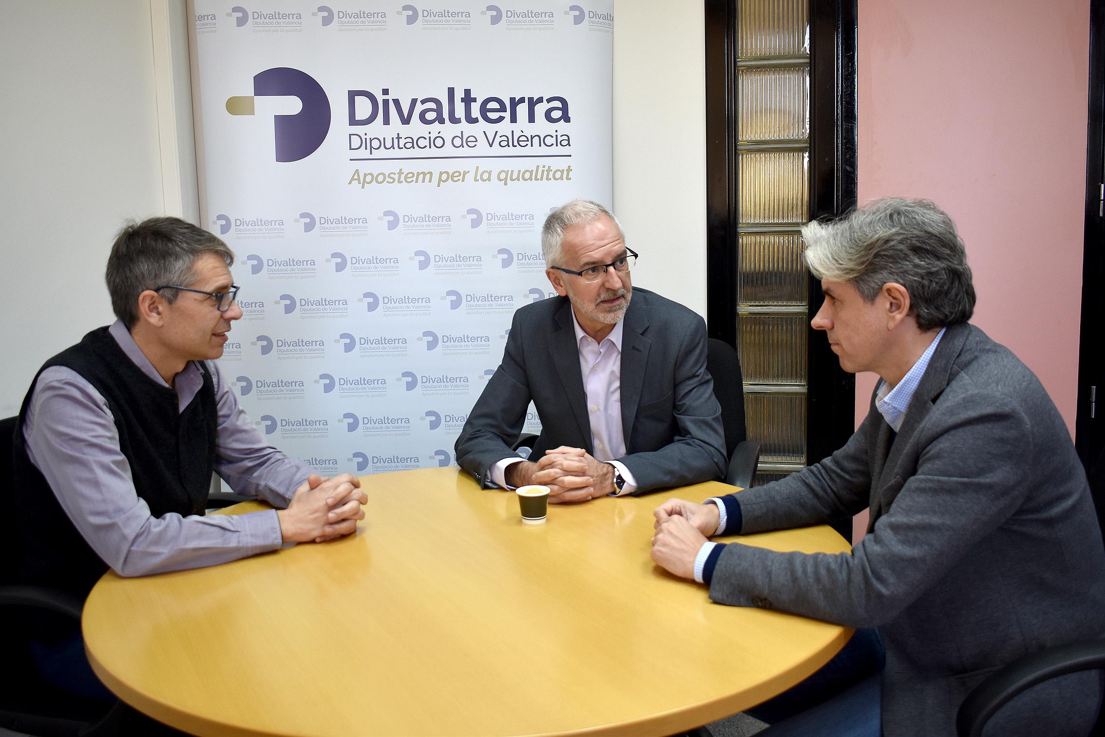 L'empresa pública de la Diputació i la Confederació d'Organitzacions Empresarials Industrials de la Comunitat Valenciana (Cofeindustria CV) tracten possibles vies de col·laboració en benefici de les empreses valencianes