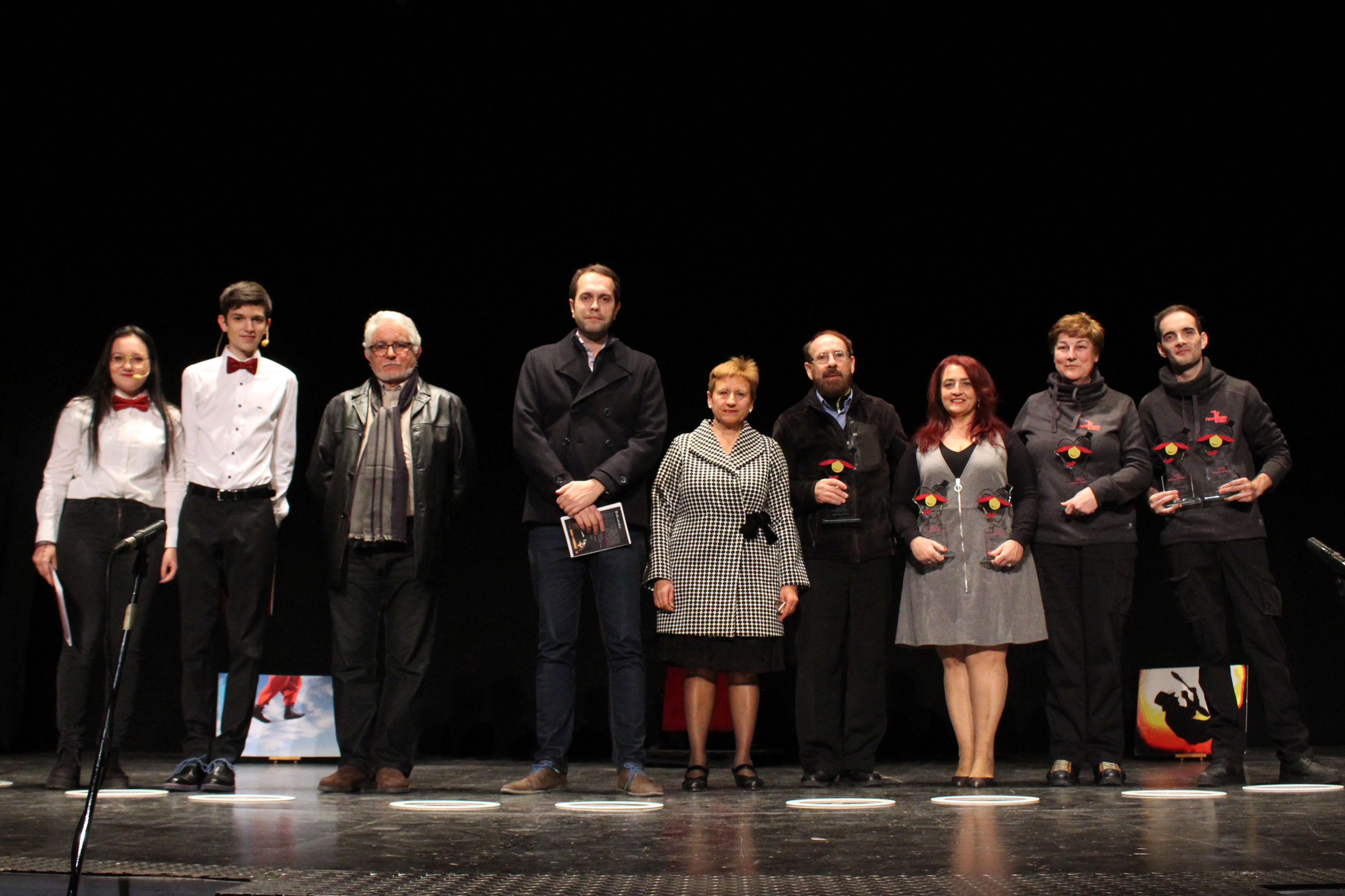"""""""Maison Close"""", de la cía Paraskenia Teatro, fue la obra más galardonada en esta edición, con los premios a mejor escenografía, mejor interpretación femenina y mejor interpretación masculina."""